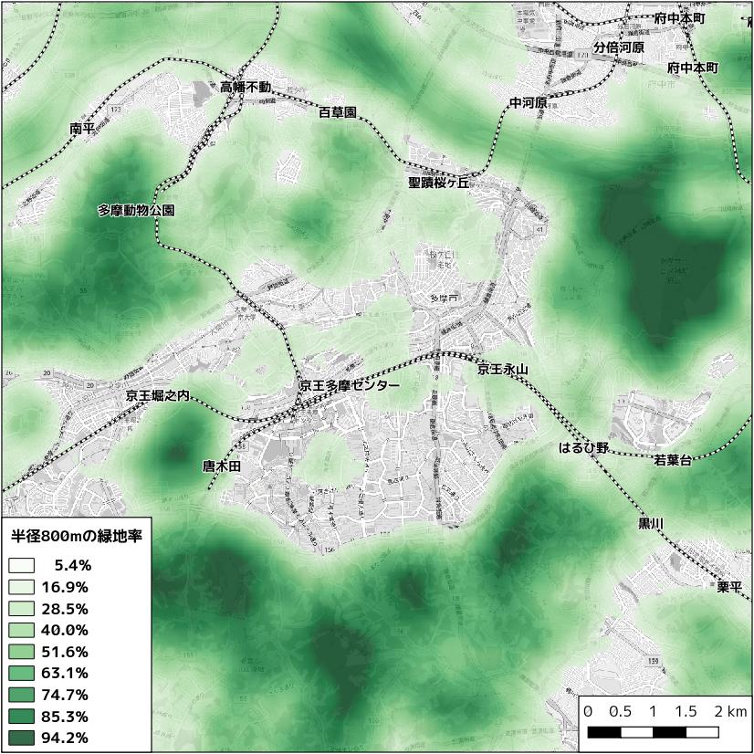 緑地面積率
