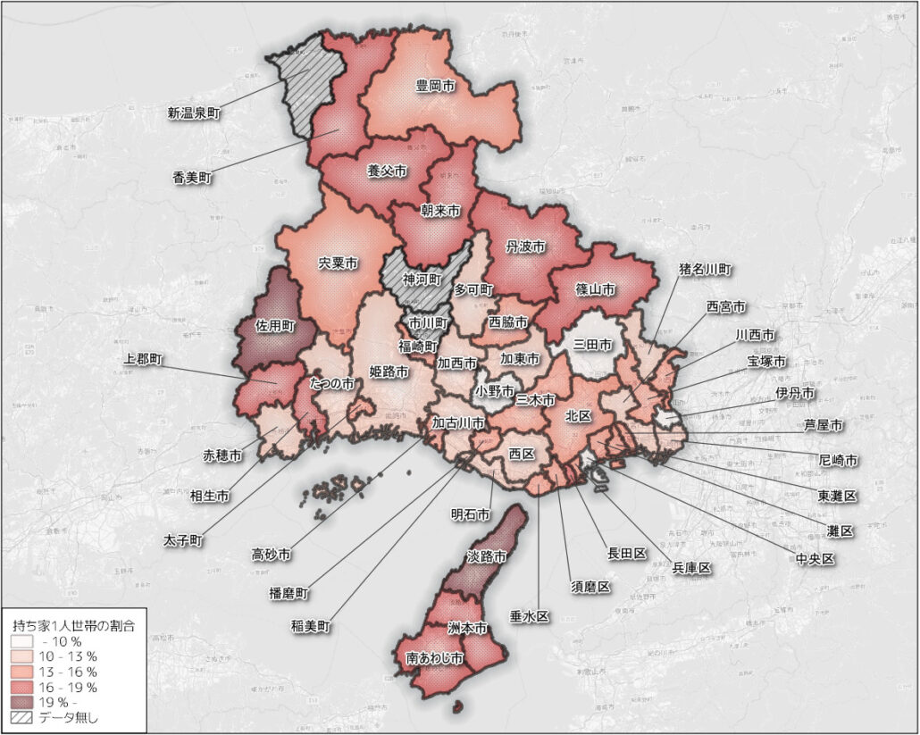 全住宅の内持ち家1人世帯の割合 min