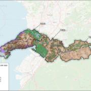 熊本県宇城地域の土壌と農地の分布状況 min